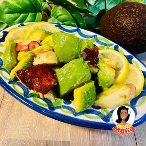 バル風 アボカドとタコの簡単サラダ